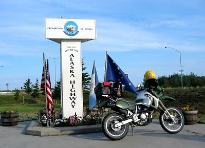 Alaska, Denali Highway and Kennicott Copper Mine