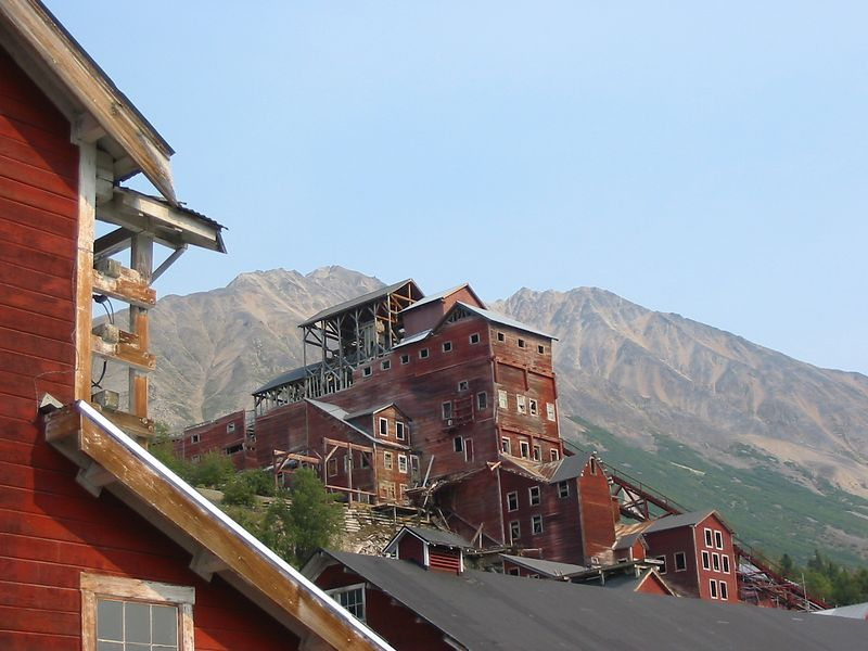 The mine itself.  At one time the most productive copper mine in North America pulling out 98% pure copper.