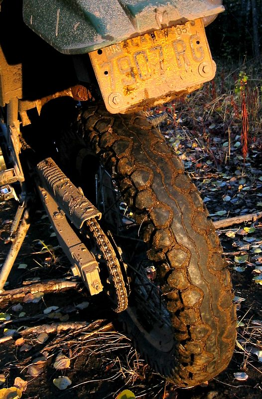 Bridgestone TW 22s are lousy mud tires.