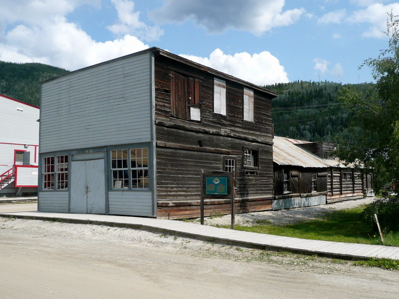 Blacksmith shop in Dawson - in business til the early 60's