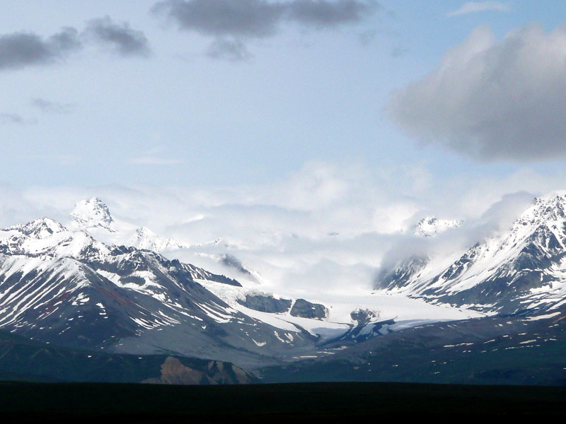 View from the Denali Highway