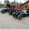 Part of the Bentley Canada-Alaska Tour. Fantastic cars!