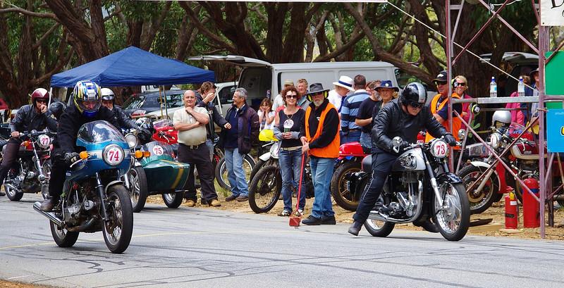 Ducati 900 & Norton ES2 500