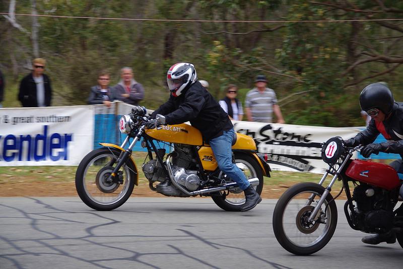 750 Ducati & 125 Honda