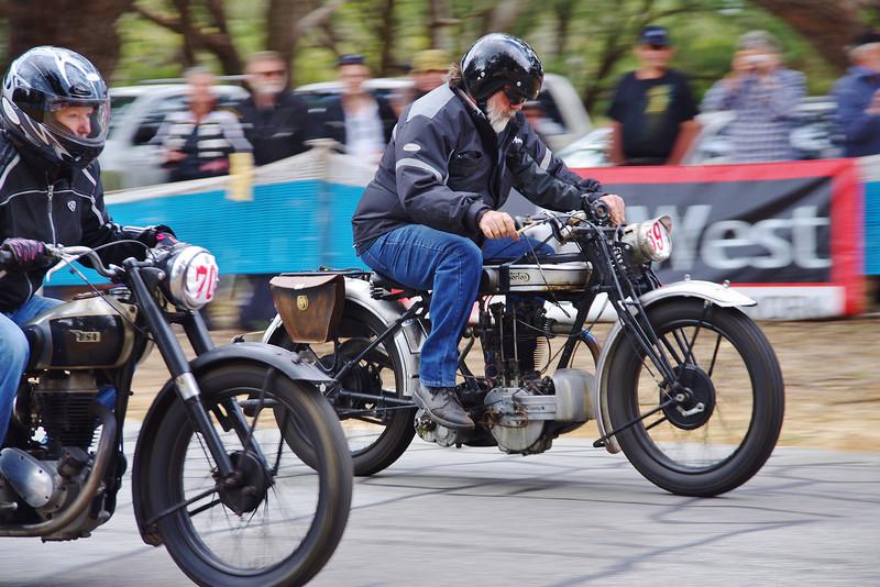 1948 BSA 250 & 1926 Norton 500