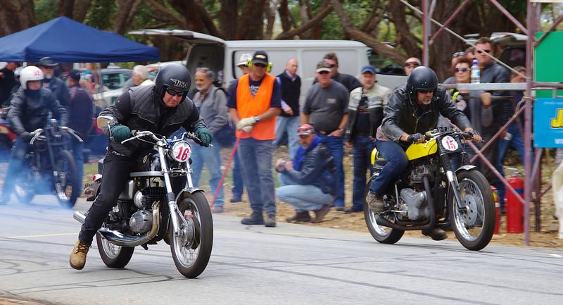 Bultaco Metralla & W1 650 Kawasaki