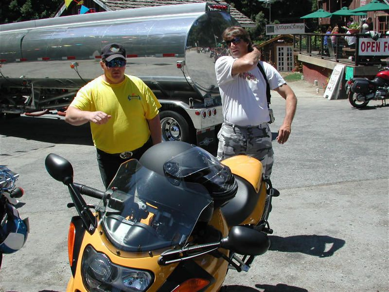 """Chef: """"I used to have one ed zachary like this...but it was a Buell"""""""