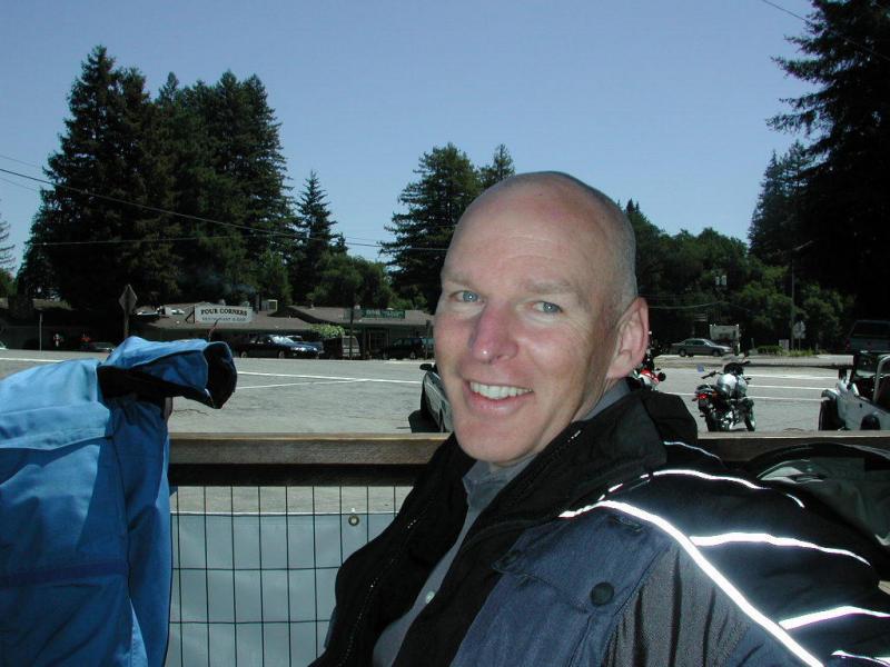 Baldy smiles