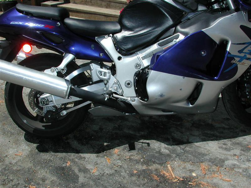 Brand new hayabusa already been down...