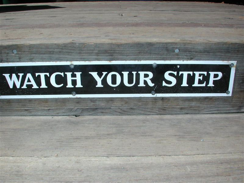 You bes watch yo step, mofo