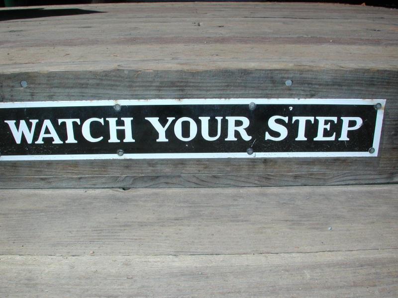 You bes watch yo step, mofo