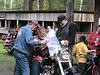 Blessing Gandy's(Bondage Breaker President) bike at DeNile