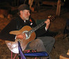 Joel Abercrombie with Guitar Saturday night at the fireside