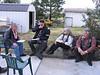 Lunch at Stan N Charlie's in Benton City; Charlie Washburn( Chappie ) Joel N Linda, Fred