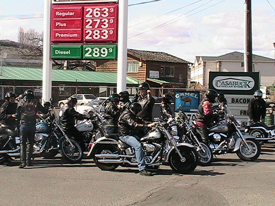 Yakima Chapter's first run