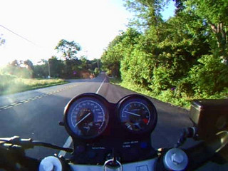 Almost Crashing on Corner - 6-23-09