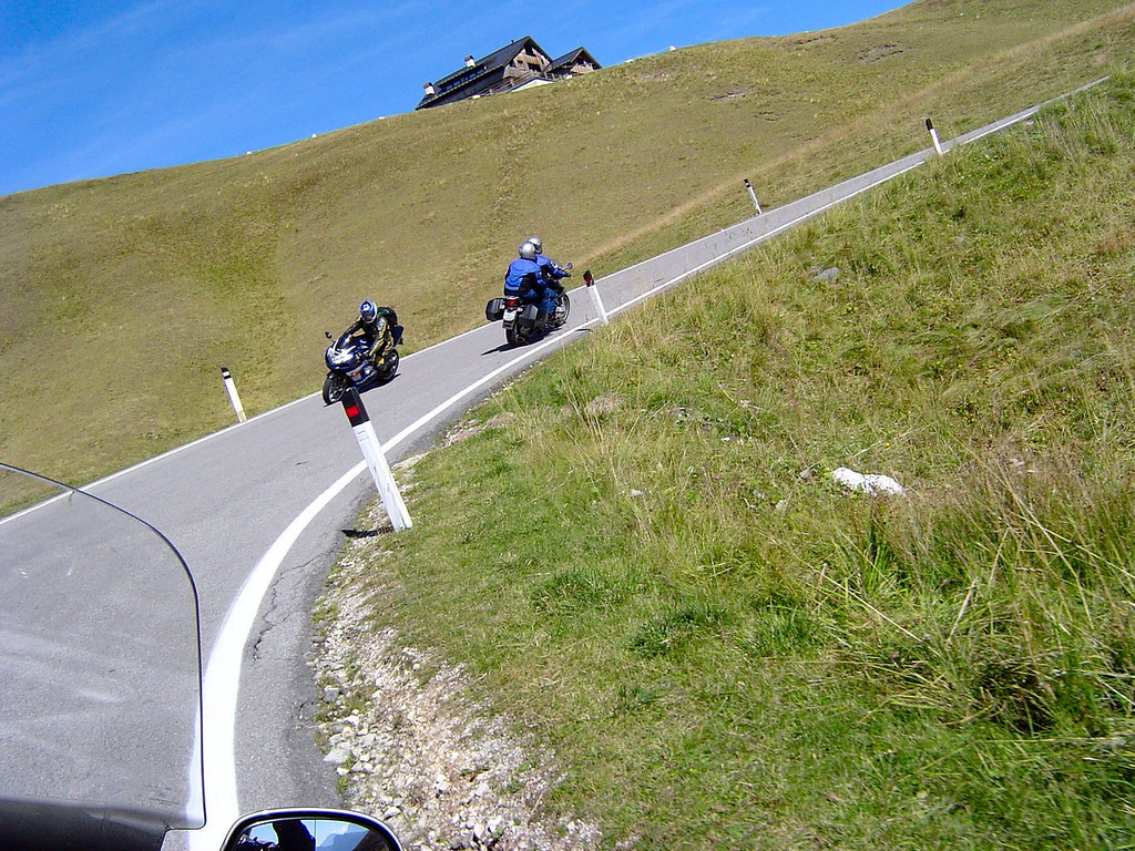What a Great Day for a ride - Dolomites of Italy