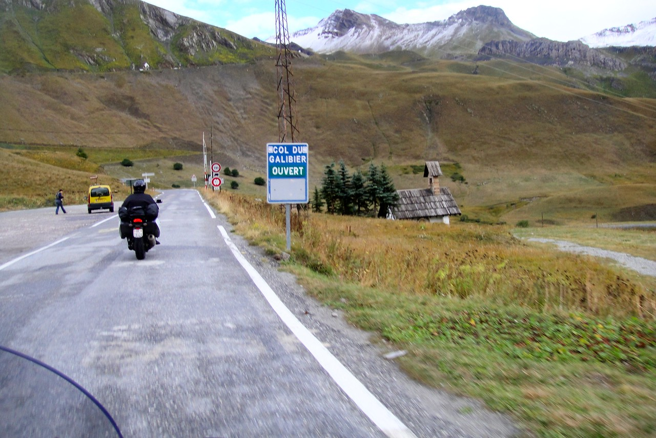 Starting the climb from the south - Col du Galiber France, #6 highest pass