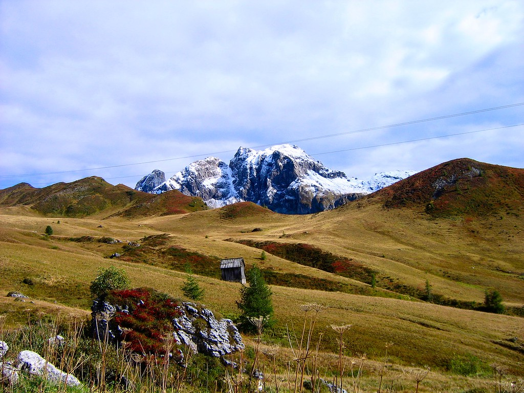 I have several pictures here of Passo di Giau in the Dolomites, one of my all time favorites