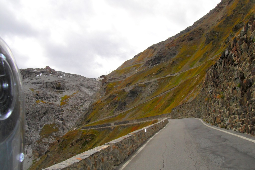 Can never have too many pictures of the Stelvio pass - coming up from the north side - Italy