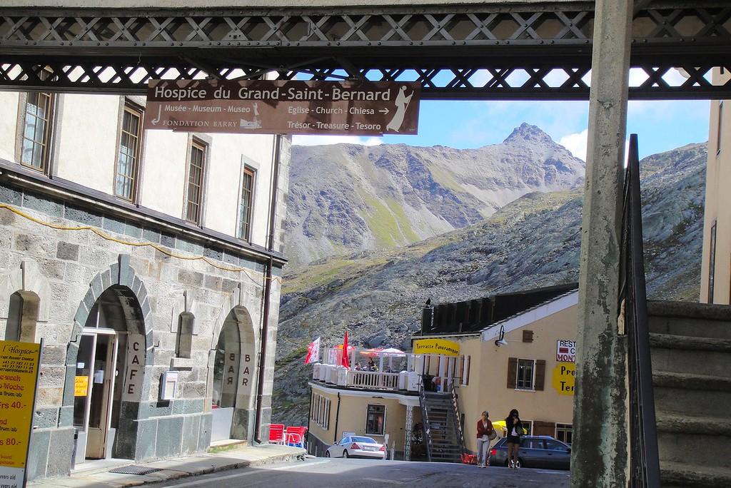 Cresting the Grand St. Bernard pass - Switzerland