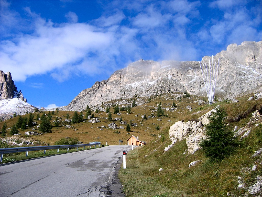 The look of the Dolomites is truly uinique and breathtaking, Passo di Giau Italy