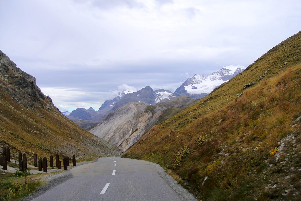Some people think the French Alps are lonely - near Col d'Izoard