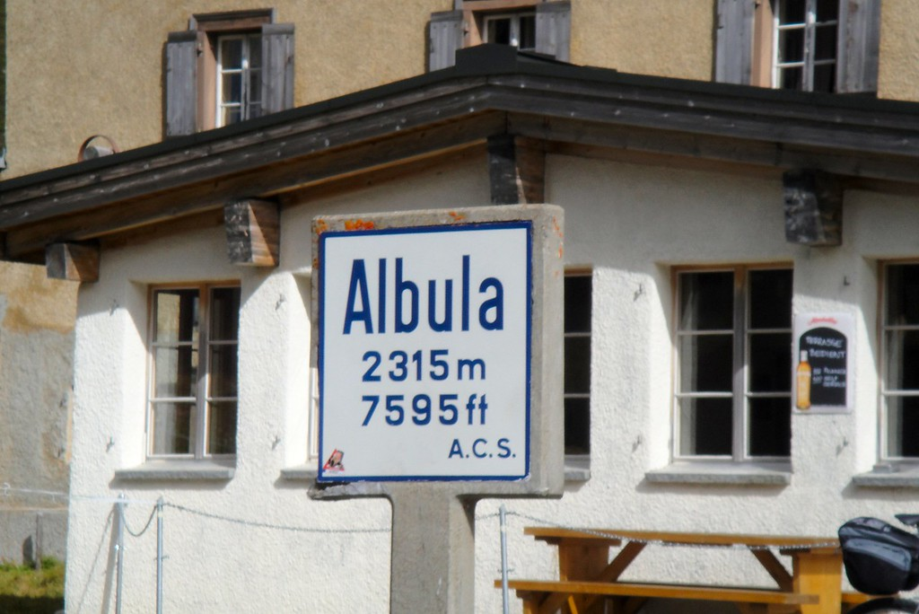 It would appear that we have crested the Albula Pass - Switzerland