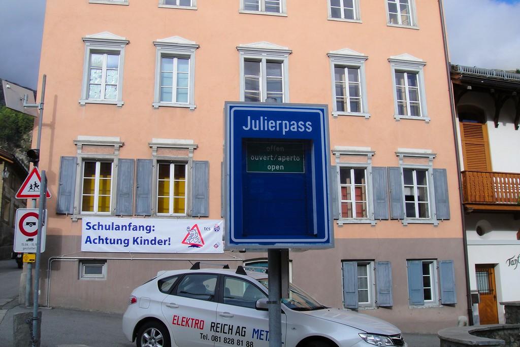 Looks like the Julier Pass is open - Switzerland