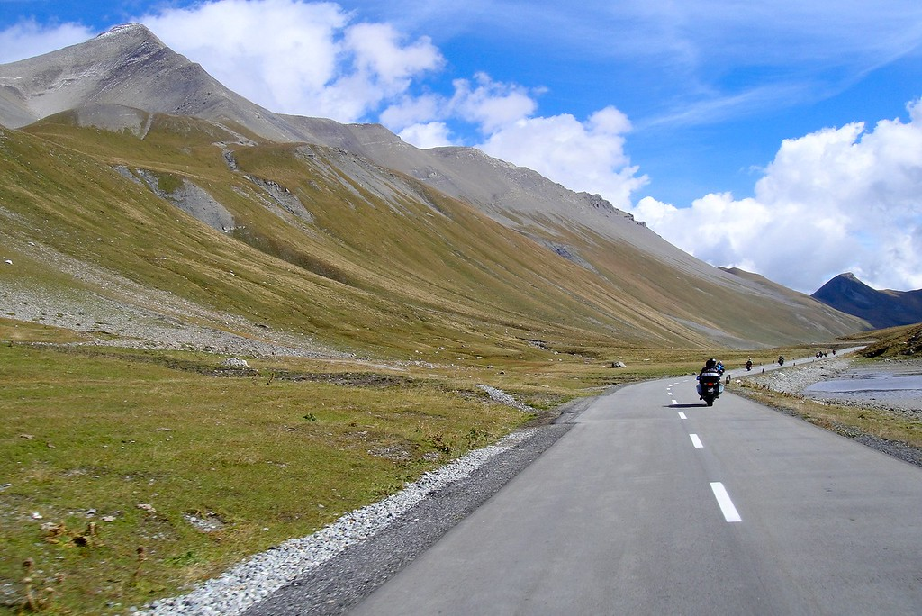 The top of the Abula Pass offers a unique Alpine landscape - Switzerland