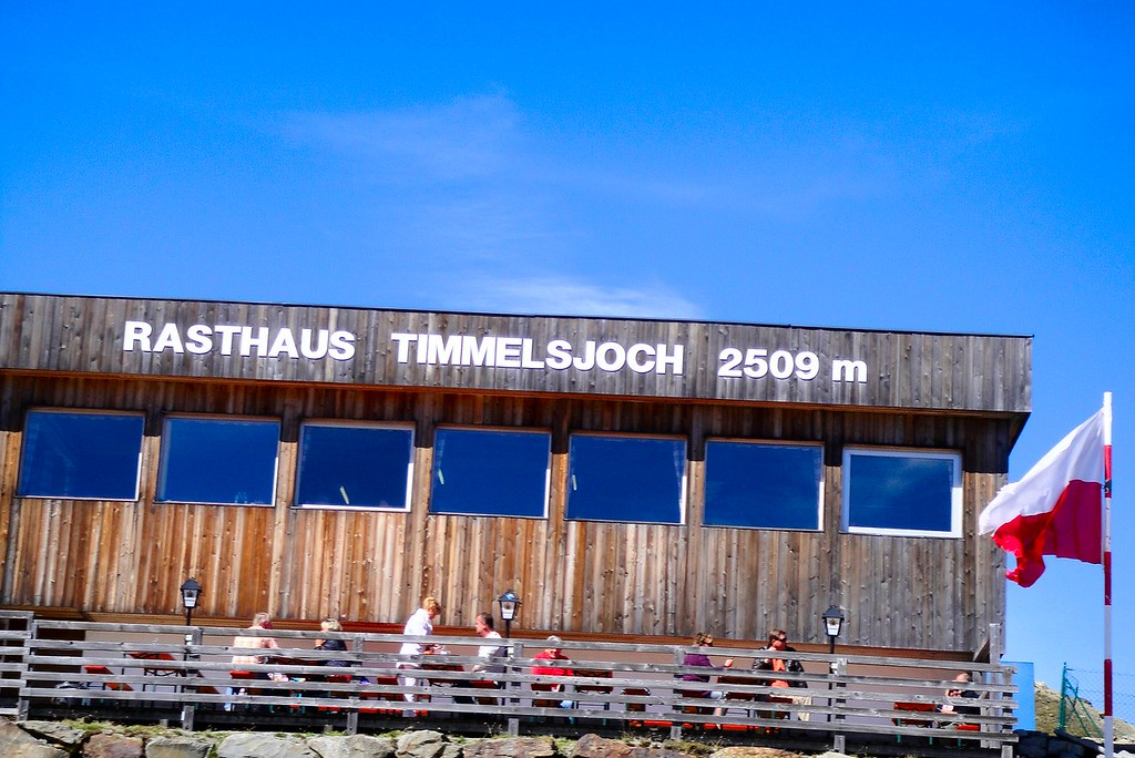 The top of the Timmelsjoch #9 - near the Austria Italy border