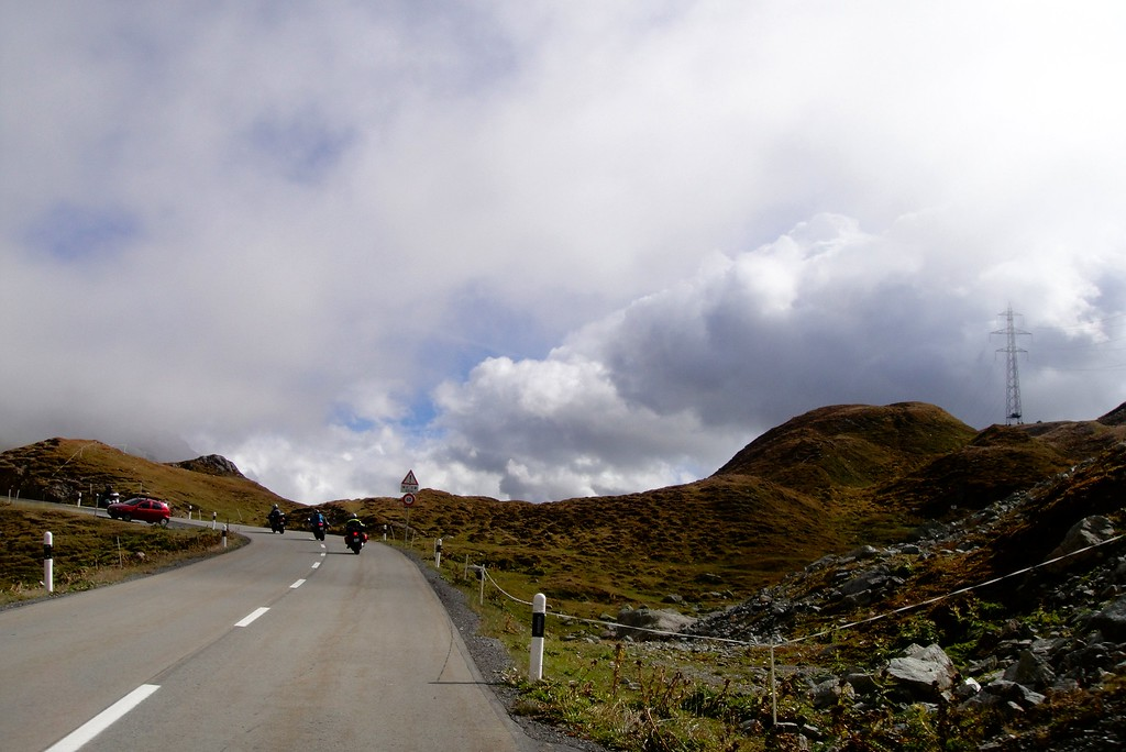Working our way to the top of the Albula Pass from the north - Switzerland