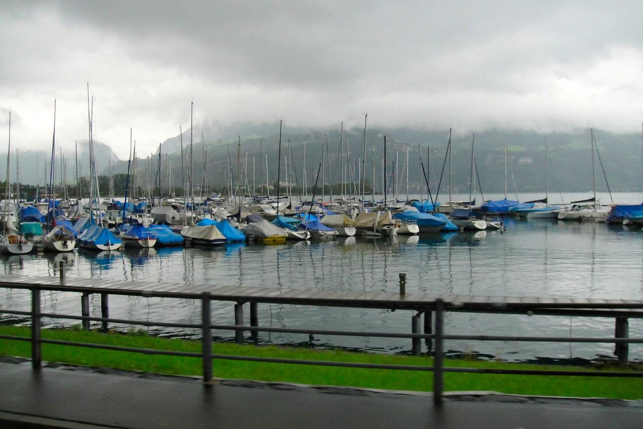 Looks like no custom cruise on the Thuner See today - Switzerland
