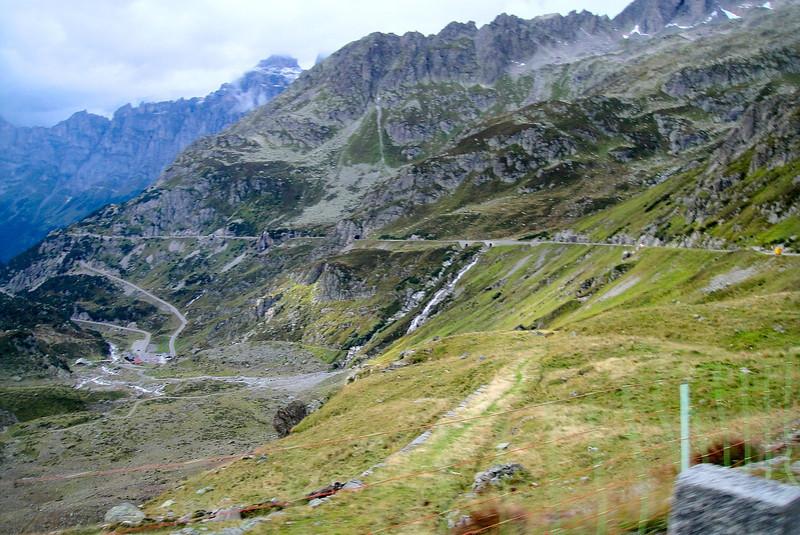 Susten Pass panarama - Switzerland