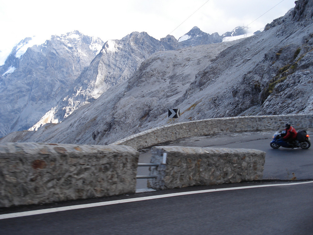 A Stelvio switchback - what a great pass