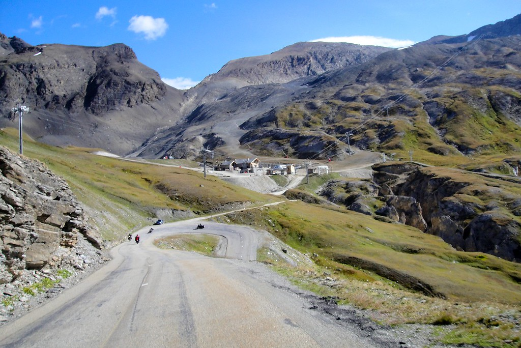 Another view of the south side of Col de l'seran - France