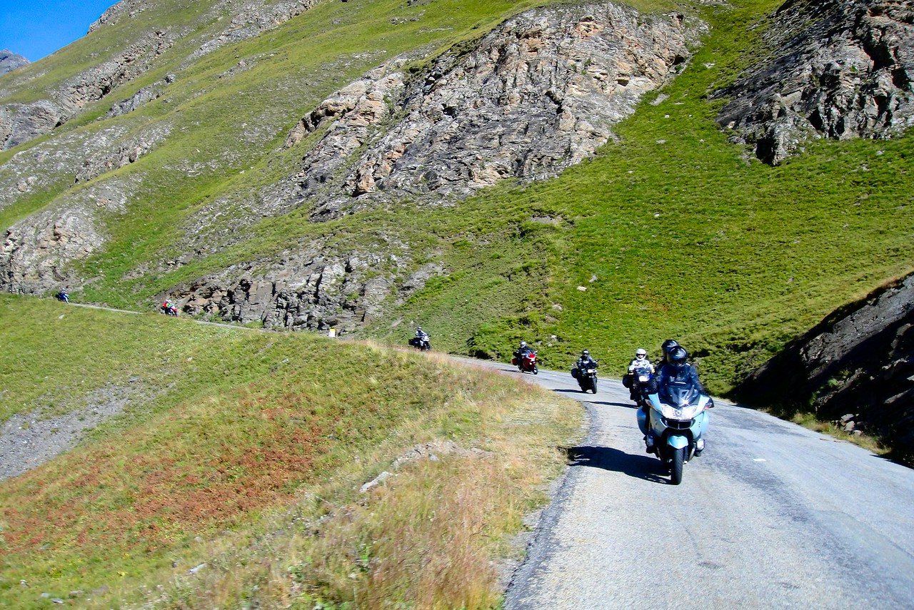 It's a great pass so another view of the south side of Col de l'seran - France