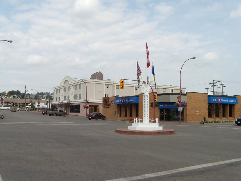 Milepost '0', Dawson Creek, British Columbia