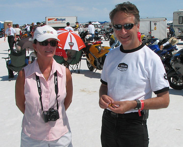 Leah and Laurence Kuykendal of BMW North America