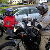 Elisa wanted to ride mom's G650GS as opposed to dad's R1200GS.