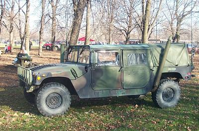 USMC humvee (escort vehicle)