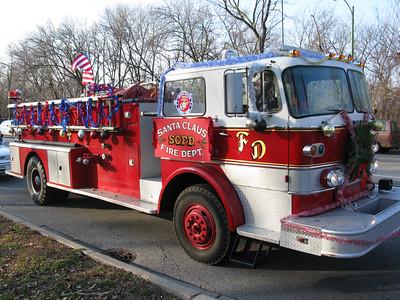 Santa Claus fire department