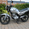 This is the bike that Anna passed her CBT on a SYM XS125 that we bought on Ebay. This is a really good little bike that goes very well and the petrol consumption is about 150 Mpg