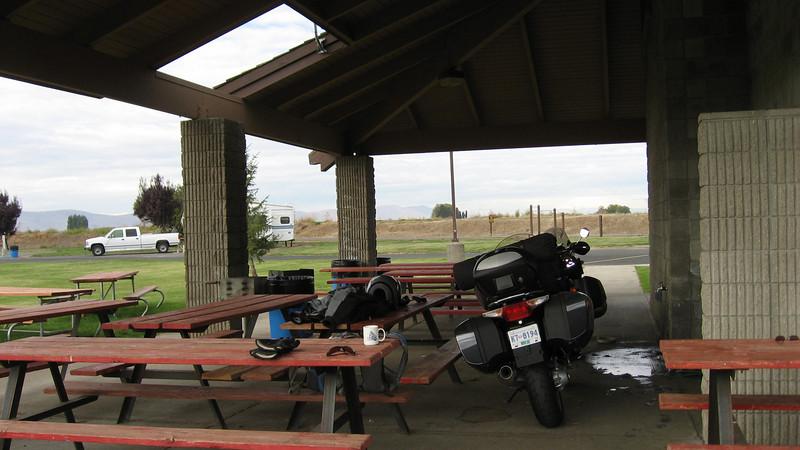 Saturday morning start at Yakama Nation Campground - Oct. 6