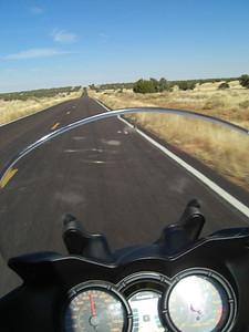 nov 5, 2007. @ 1:30pm, AZ 377 bewteen Heber & Holbrook, AZ.  Had to slow down a bit to take this shot!