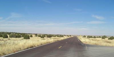 "nov 5, 2007. @ 1:30pm, AZ 377 bewteen Heber & Holbrook, AZ.  Traffic?  What's ""Traffic""?!"
