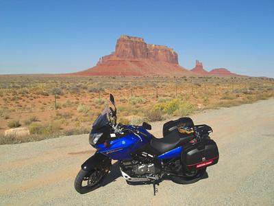 Nov 6, 2007, @  2pm,  Monument Valley on US 163 - Eagle Mesa