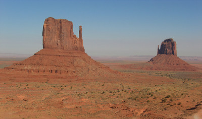 Nov 6, 2007, @  2:30pm,  Monument Valley  Navaho Tribal Park,  The Mitten Buttes