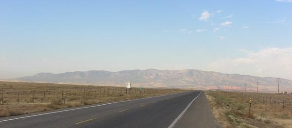 nov 6, 2007, @ 11:45am, on US 64 west of Shiprock, NM, headed for Tec Nos Pos, AZ.