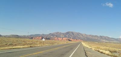nov 6, 2007, @ 10am, on US 64 west of Shiprock, NM, headed for Tec Nos Pos, AZ.
